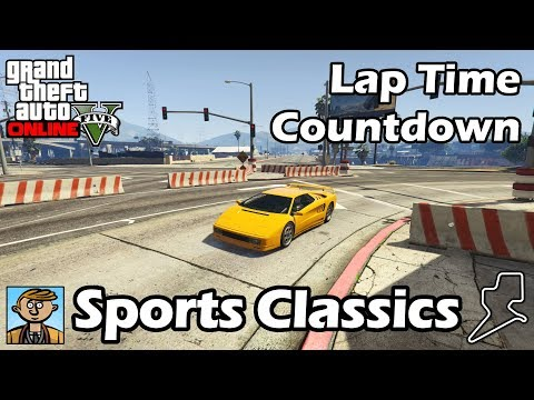 Fastest Sports Classics (2018) - GTA 5 Best Fully Upgraded Cars Lap Time Countdown