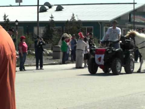 Churchill Manitoba Canada Day Parade