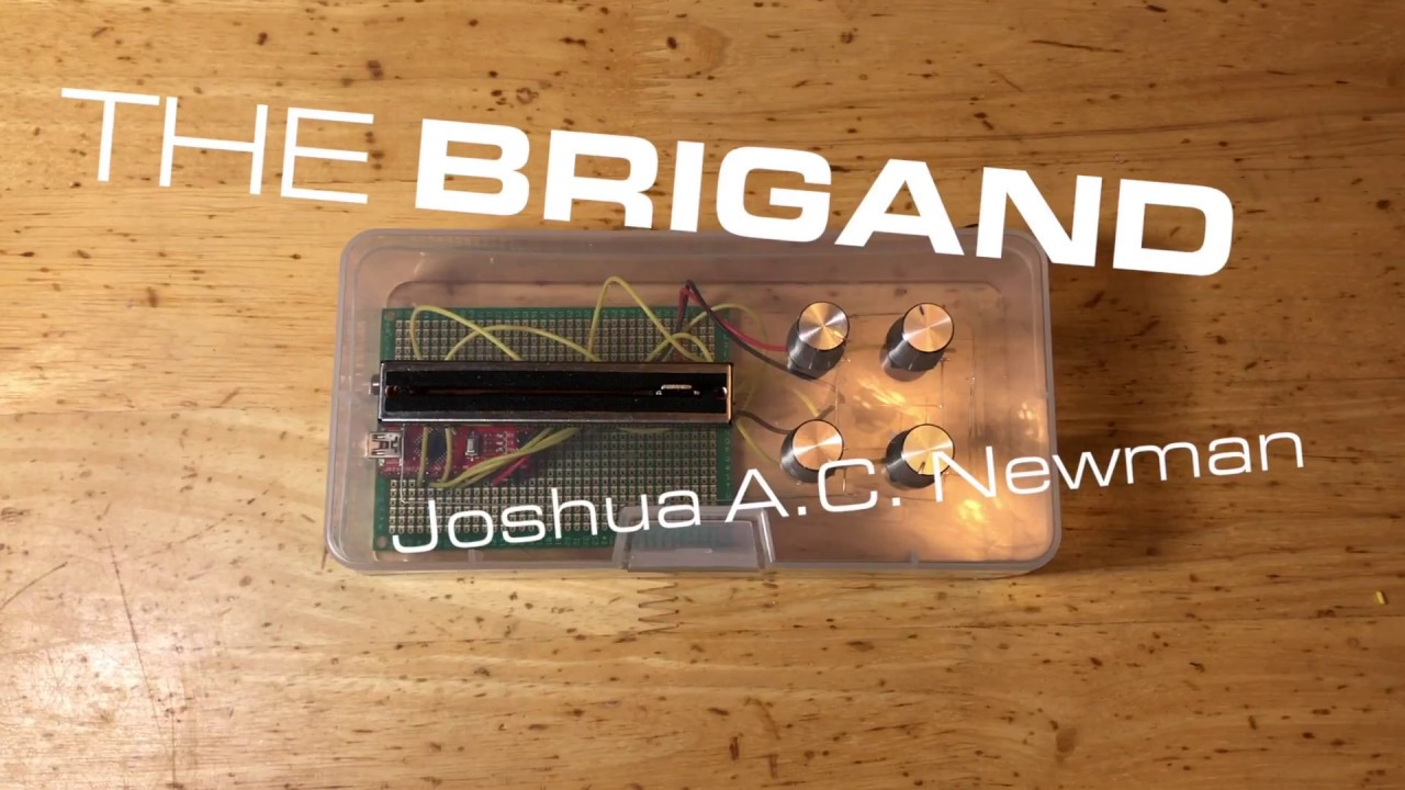 The Brigand — a DIY, Arduino-based, Granular Synthesizer
