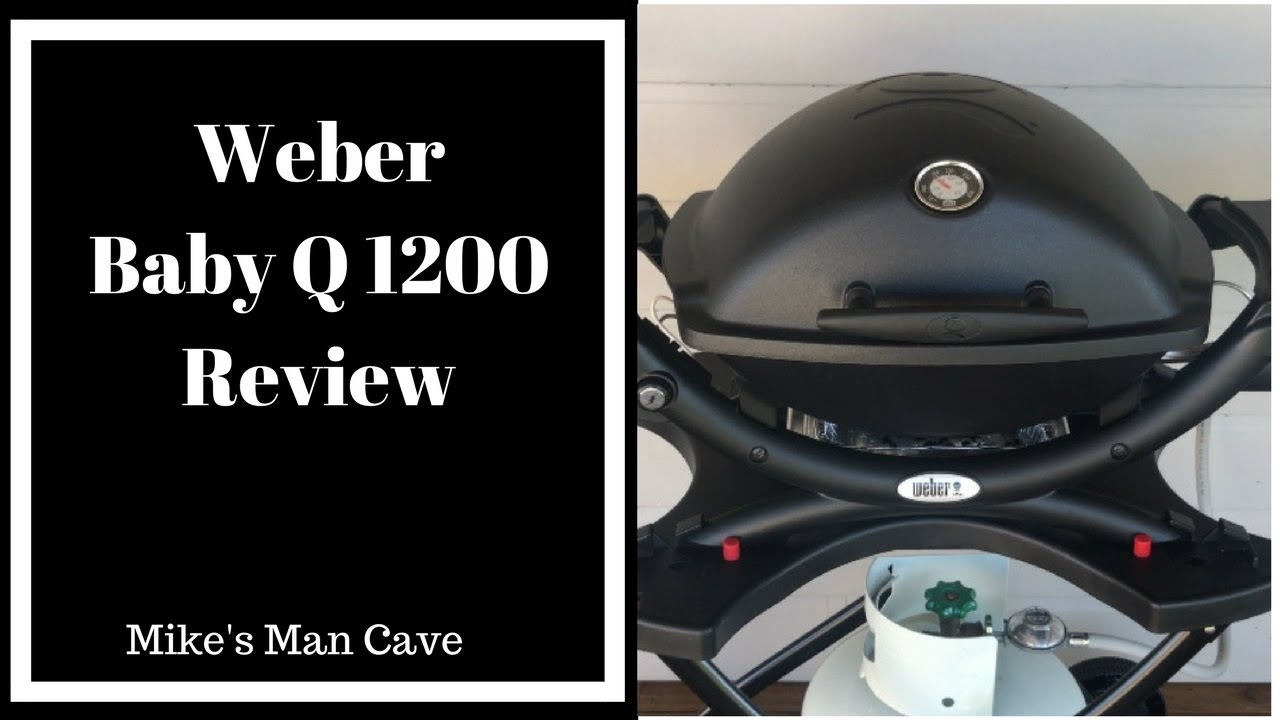 weber baby q 1200 review youtube. Black Bedroom Furniture Sets. Home Design Ideas