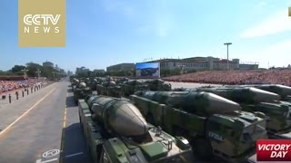 Strategic strikes module displays missiles by China's second artillery force