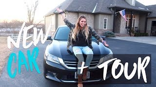 I GOT A NEW CAR + CAR TOUR!