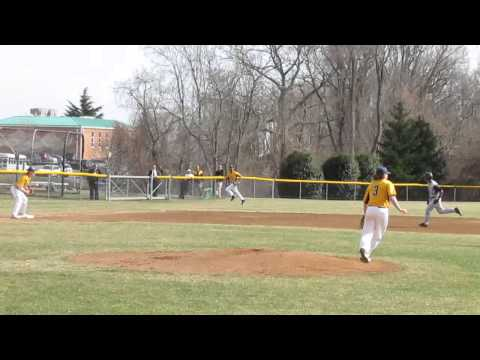 Gilman at SP baseball clip 2  4 2 14