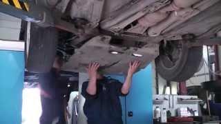 Глушитель на авто Volvo  XC90. Замена гофры и банки глушителя Замена гофры в СПБ .(, 2013-06-04T09:56:55.000Z)