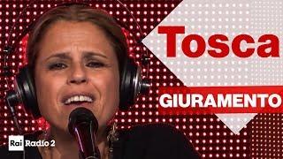 """TOSCA dal vivo a Radio2 Social Club - """"GIURAMENTO"""""""