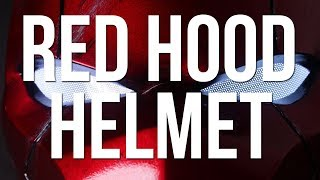 Red Hood Helmet Build [Creality Coupon Code]