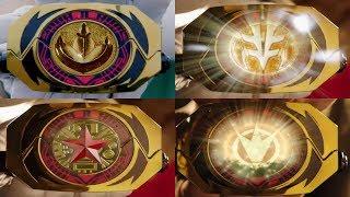 Power Rangers Super Ninja Steel - All Master Morpher Morphs   Episode 10 Dimensions in Danger
