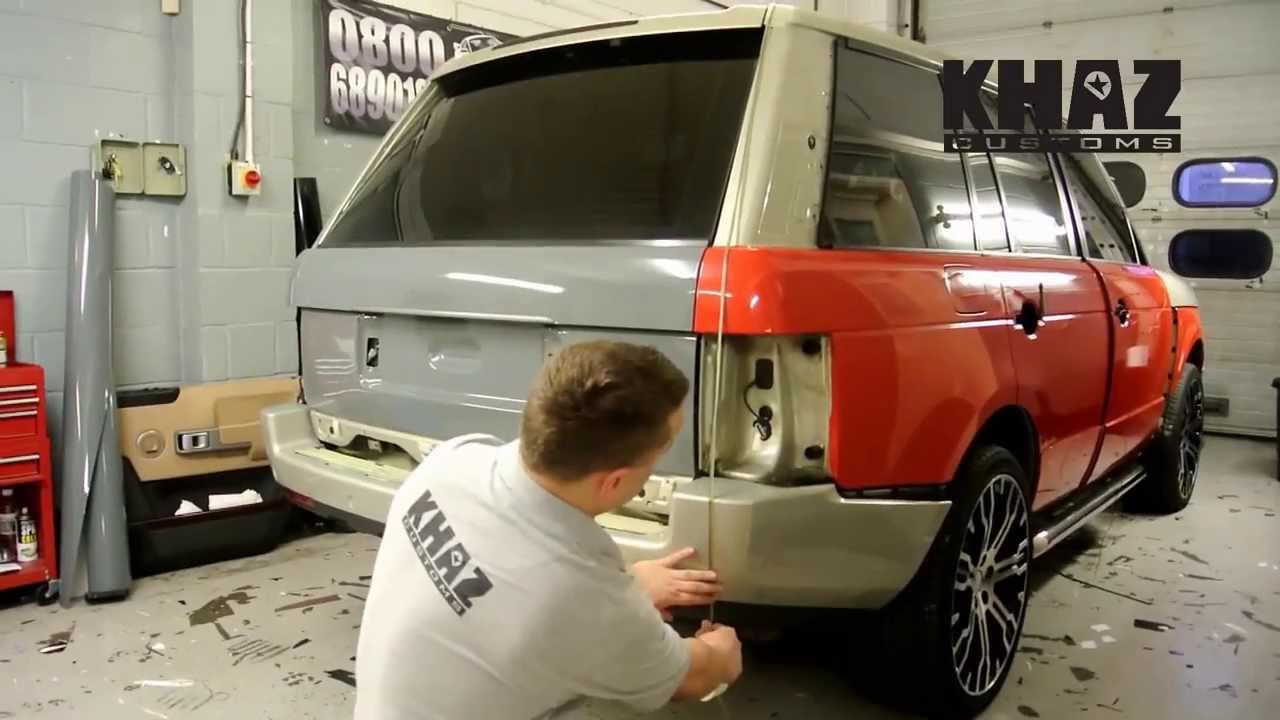 Range Rover Vogue Customised By Khazcustoms Pt 1