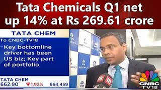 Tata Chemicals Q1 net up 14% at Rs 269.61 crore | CNBC TV18