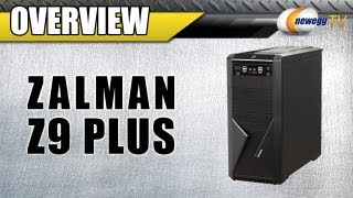 newegg TV: ZALMAN Z9 Plus Black Steel / Plastic ATX Mid Tower Computer Case Unboxing