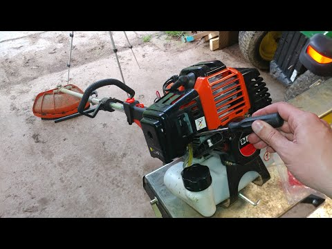 ADJUSTING THE CARB ON THE CHEAPEST STRING TRIMMER, HEDGE TRIMMER AND POLE SAW ON EBAY!!!!!!