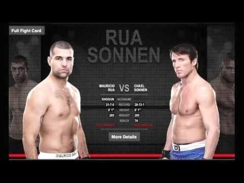 UFC Fight Night 26: Shogun VS Sonnen Main Card Predictions