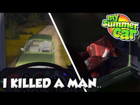 Killing The Green Car My Summer Car 15 My Summer Car Gameplay Update