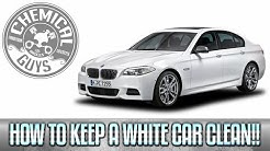 How To Keep A White Car Clean - Chemical Guys