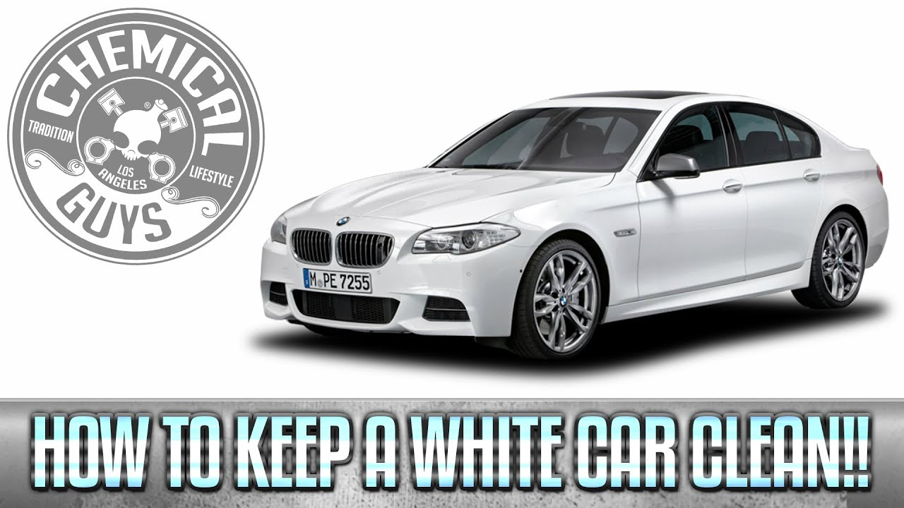 How To Keep A White Car Clean Chemical Guys Youtube