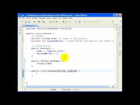 eclipse and java for total beginners Eclipse and java for total beginners eclipse and java for total beginners.