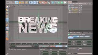 Fracture Text Breaking News Open