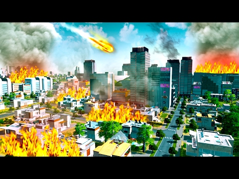 MY CITY IS DESTROYED! (Cities Skylines) |