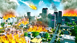 MY CITY IS DESTROYED! (Cities Skylines)