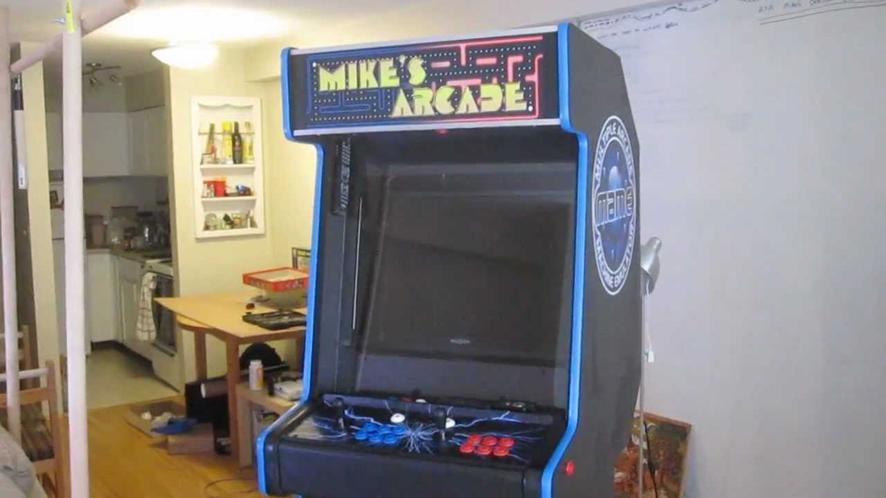 vancouver grade arcade machine custom model commercial cabinet time machines