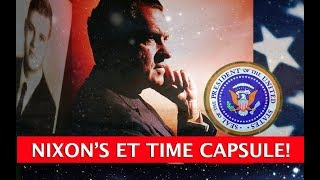 NIXON ET TIME CAPSULE UFO DISCLOSURE TIPPING POINT! DARK JOURNALIST ROBERT MERRITT & DOUGLAS CAD
