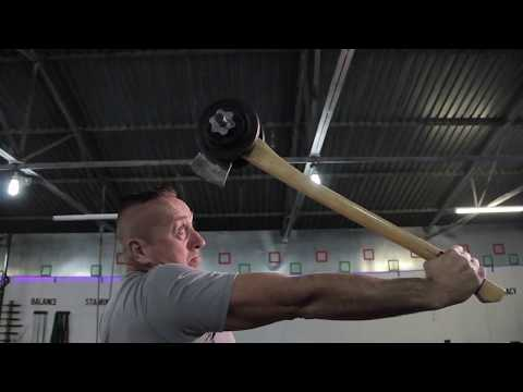 John McGrath Feat of Strength - The Levering of The Axe