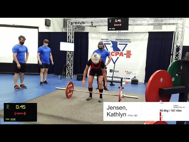 Kathlyn Jensen - 187lbs Deadlift