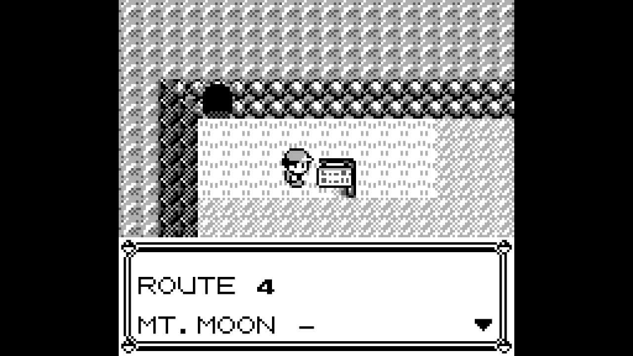 Pokemon Red Route 4