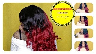 Ebin New York- The Best Brazilian Beauty Supply Store Hair | Bright Fire Red Hair |Samore Love
