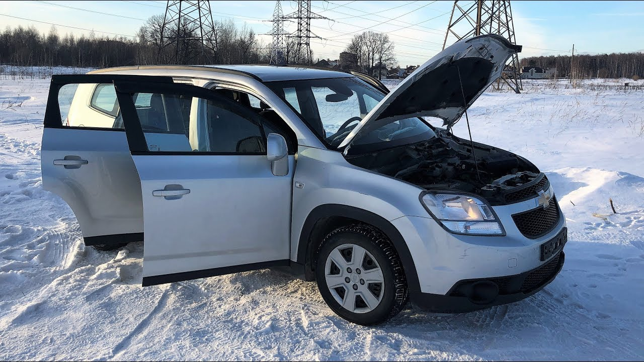 Жертва толщиномера - Chevrolet Orlando
