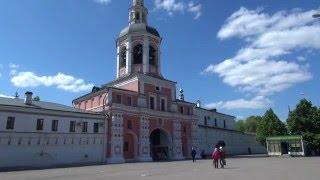 видео Данилов монастырь в Москве