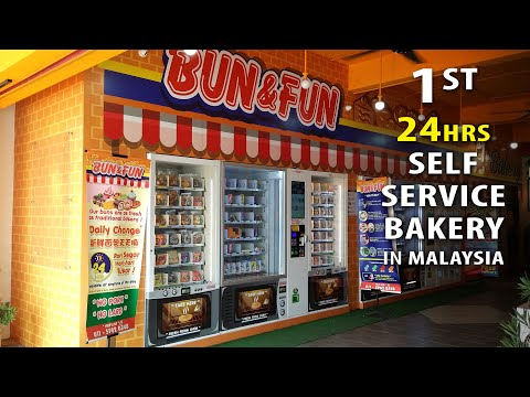 Bakery Vending Machines In Malaysia
