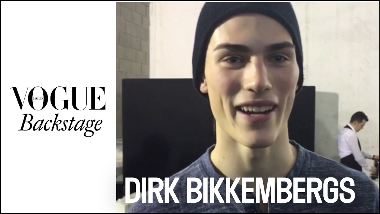 A Saturday night with male models at Fashion Week? | #VogueBackstage