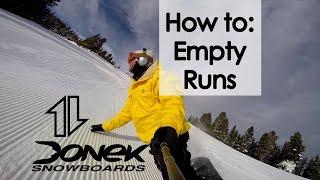 How To: Empty Runs