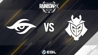 Rainbow Six Pro League - Season 8 - EU - Team Secret vs. G2 Esports - Week 10