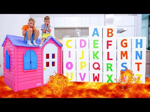 ABC Learn English Alphabet with Vlad and Niki