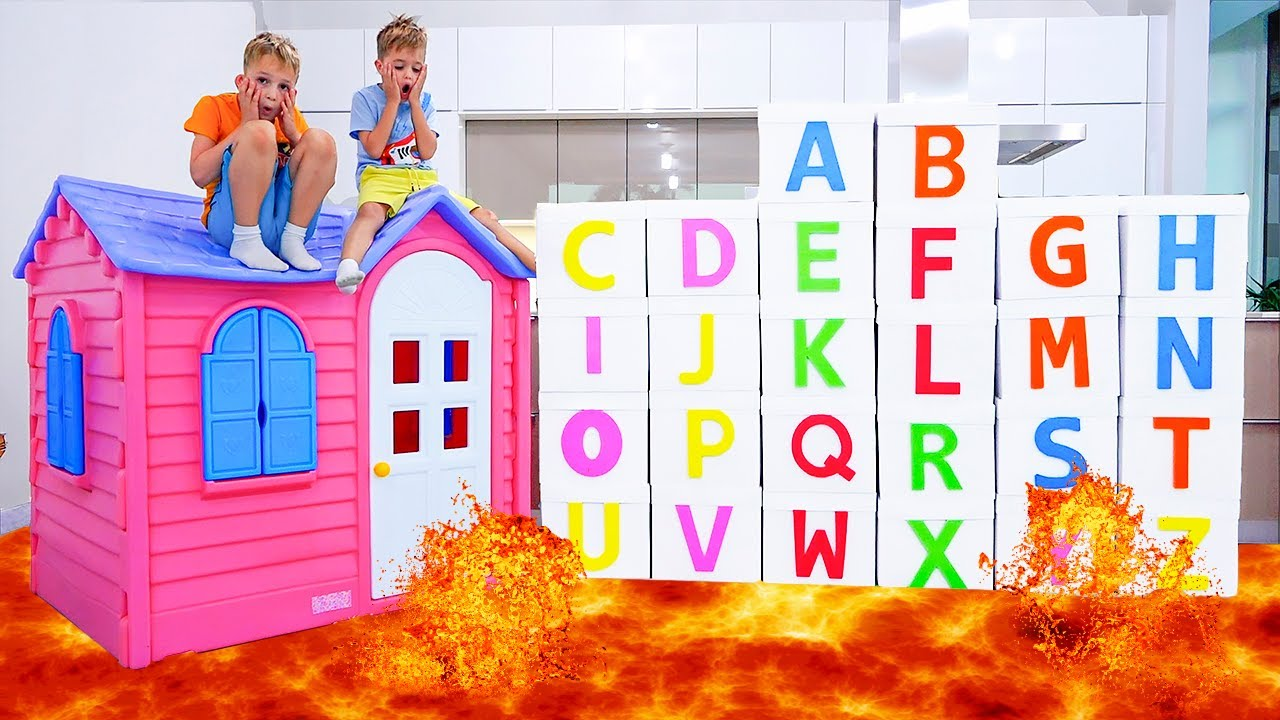 ABC Learn English Alphabet with Vlad and Niki