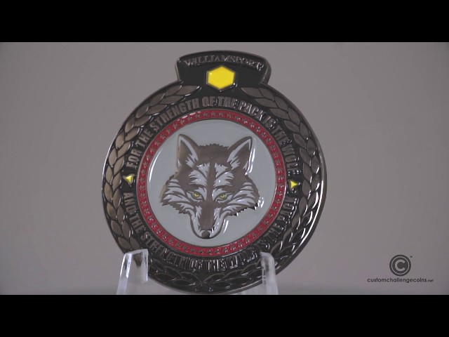 Custom Challenge Coins - Army National Guard Recruiting