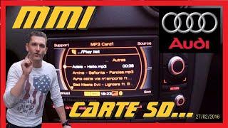 """TUTO"" Carte SD via MMI Audi"