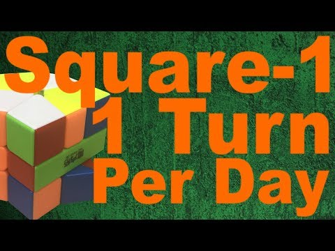 Solving a Square-1, One Turn Per Day