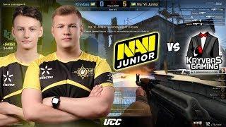 ЛЕГЧАЙШАЯ ДЛЯ НАВИ ДЖУНИОР / Na'Vi Junior vs Kryvbas WESG 2019-2020 CIS Closed Qualifier