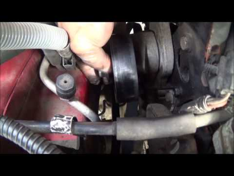 Squeaky belt NO MORE! Dodge Caravan  Town and Country Serpentine Belt  YouTube
