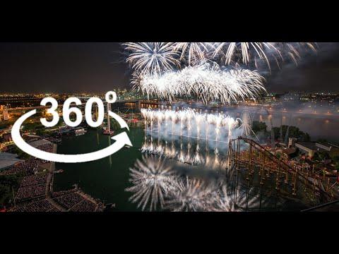 World's Largest Fireworks Festival in 360˚