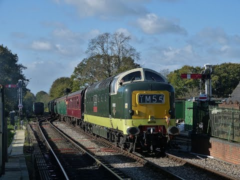 Mid-Hants Railway 'DIESEL WEEKEND' - 2017