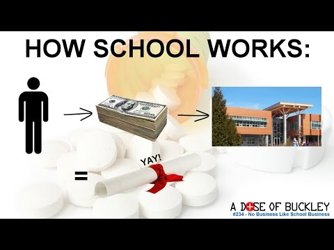 No Business Like School Business - A Dose of Buckley