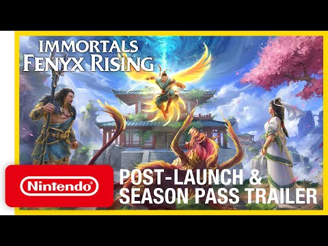 Immortals Fenyx Rising - Post-launch & Season Pass Trailer - Nintendo Switch