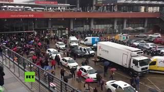 🔴 Desalojan una estación de trenes de Madrid por amenaza de bomba