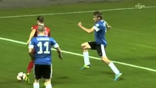 Azerbaycanlı spiker Milli Takım'ın golleriyle coştu