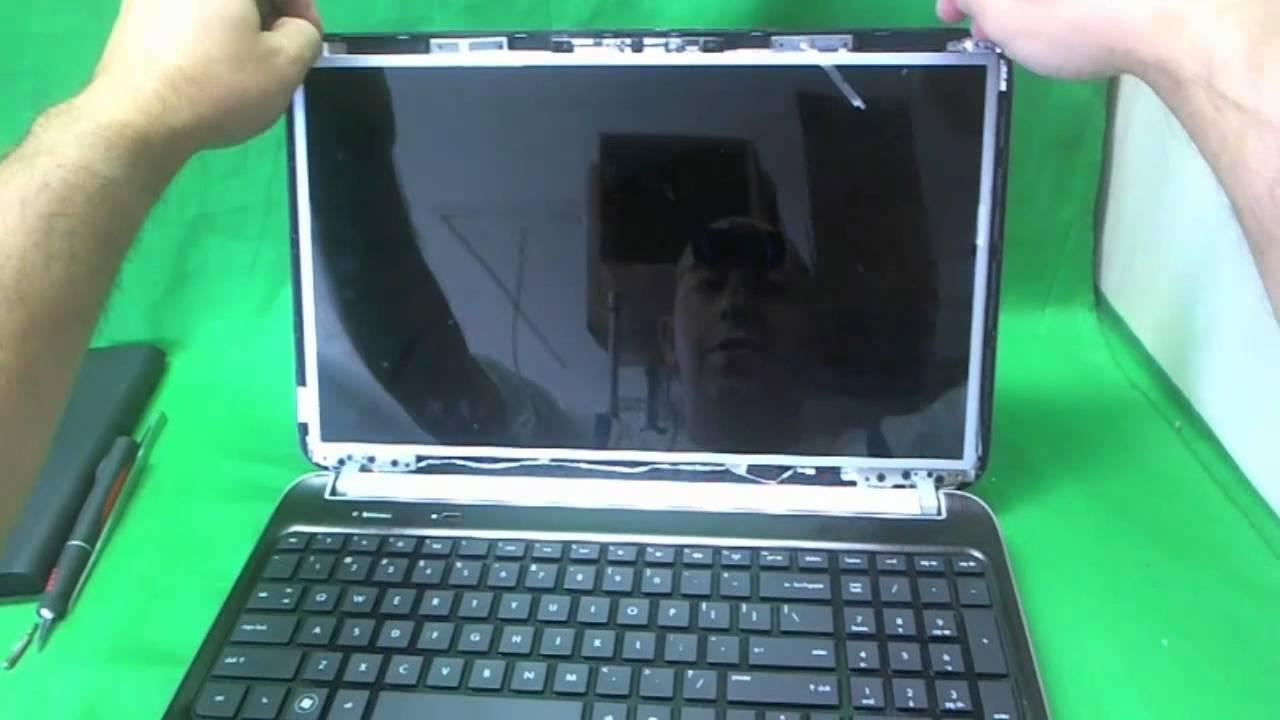 Hp Dv6 6000 Laptop Screen Replacement Procedure Youtube