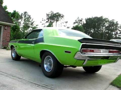 1970 Dodge Challenger Ta 340 Sixpack Youtube